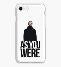 Liam Gallagher // As You Were Polarized image iPhone Case/Skin