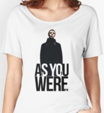 Liam Gallagher // As You Were Polarized image Women's Relaxed Fit T-Shirt