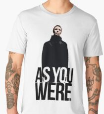 Liam Gallagher // As You Were Polarized image Men's Premium T-Shirt