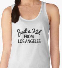 Just a kid from Los Angeles LA Women's Tank Top