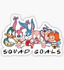 tiny toon squad goals Sticker