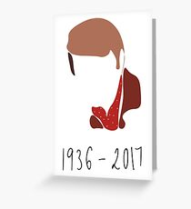Glen Campbell Tribute: 1936 - 2017 Greeting Card