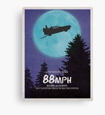 88mph (ET Movie Poster Parody) Canvas Print