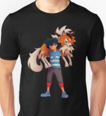 Ash with Dusk Lycanroc T-Shirt