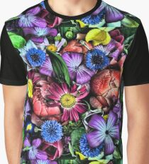 A Beautiful Bouquet of Flowers at the local Farmers Market in Oregon Graphic T-Shirt