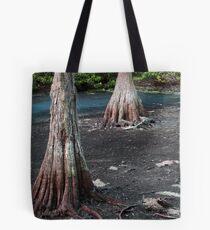 Cypress Trees.... Tote Bag