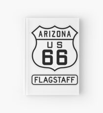 Historic Route 66 - The Mother Road - Flagstaff Hardcover Journal