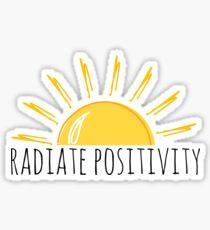 Positivität ausstrahlen Sticker