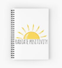 Radiate Positivity Spiral Notebook