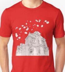 Basilica in Asteroid Belt T-Shirt