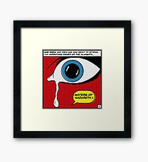 Waters of Nazareth Framed Print