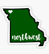 Northwest MO State Sticker