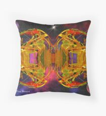 Sinister Separation Throw Pillow