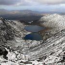 Winter view from Carruntoohil by John Quinn