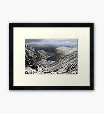Winter view from Carruntoohil Framed Print