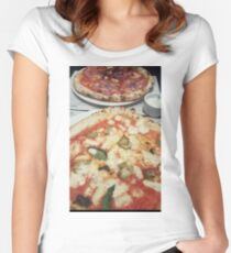 Pizza - Franco Manca - Brixton Women's Fitted Scoop T-Shirt