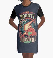 The Bounty Hunter Returns Graphic T-Shirt Dress