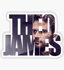 Theo James Sticker