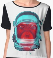 Space Monkey Women's Chiffon Top