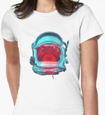 Space Monkey Women's Fitted T-Shirt