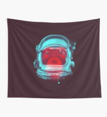 Space Monkey Wall Tapestry