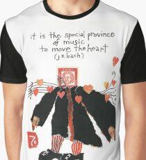 Stamp People Series (Johann Sebastian Bach v.2) Graphic T-Shirt