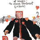 Stamp People Series (Johann Sebastian Bach v.2) by dosankodebbie
