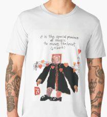 Stamp People Series (Johann Sebastian Bach v.2) Men's Premium T-Shirt
