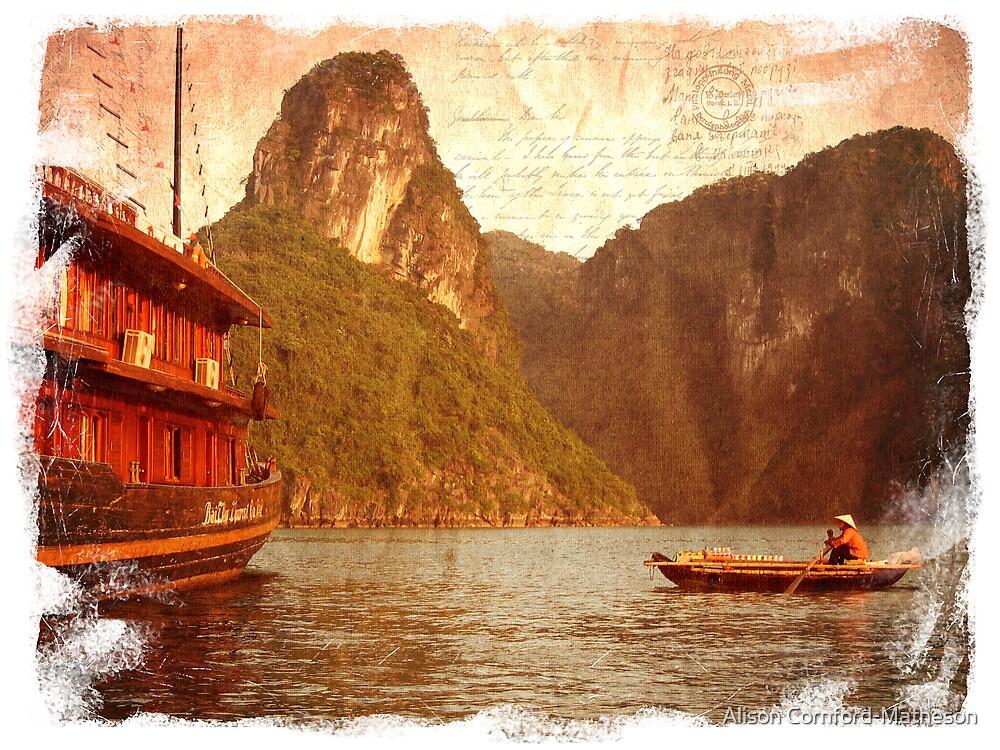 Forgotten Postcard - Vietnam by Alison Cornford-Matheson