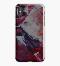 Abstract Brush Painting iPhone Case