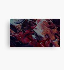 Abstract Brush Painting Canvas Print