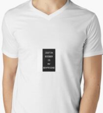 justin Men's V-Neck T-Shirt