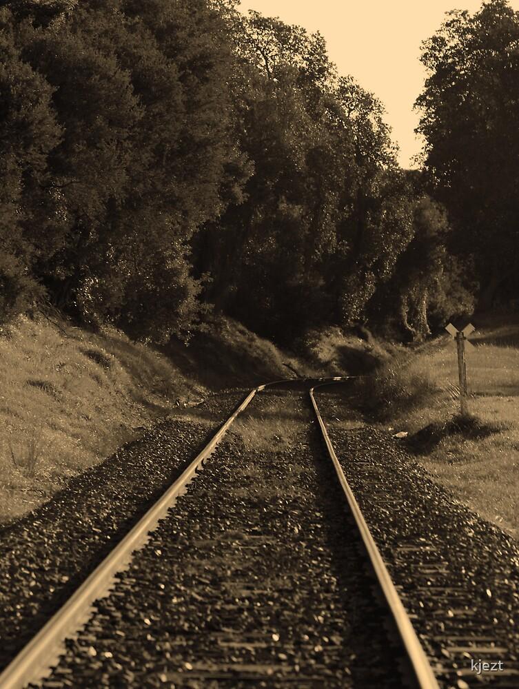 Lonely Tracks by kjezt