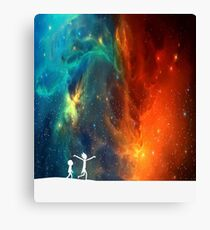 Rick and Morty - Star Viewing 3 Canvas Print