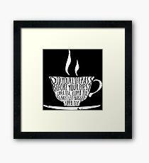 Spike's Cuppa Tea Framed Print