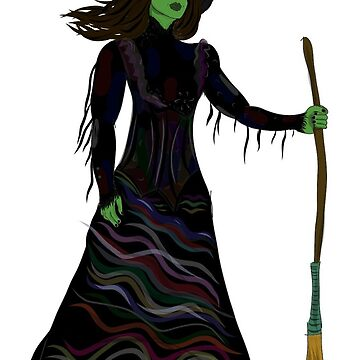 Elphaba Act II by MissElphie