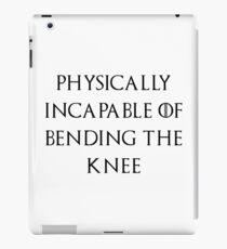 Jon - Bend the knee iPad Case/Skin