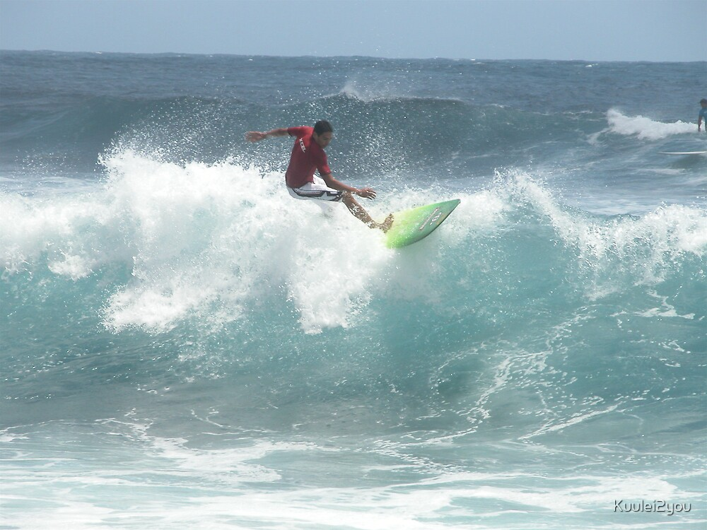 Surfing, contest at Pohoiki by Kuulei2you