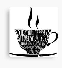 Spike's Cuppa Tea Canvas Print