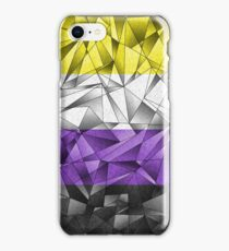 Abstract Non-Binary Flag iPhone Case/Skin