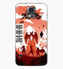 Skizorr - Gurren Lagann (Movie Poster) Case/Skin for Samsung Galaxy