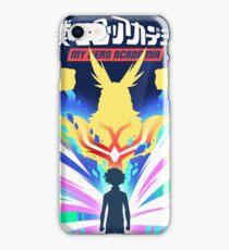 Skizorr - My Hero Academia (Movie Poster) iPhone Case/Skin