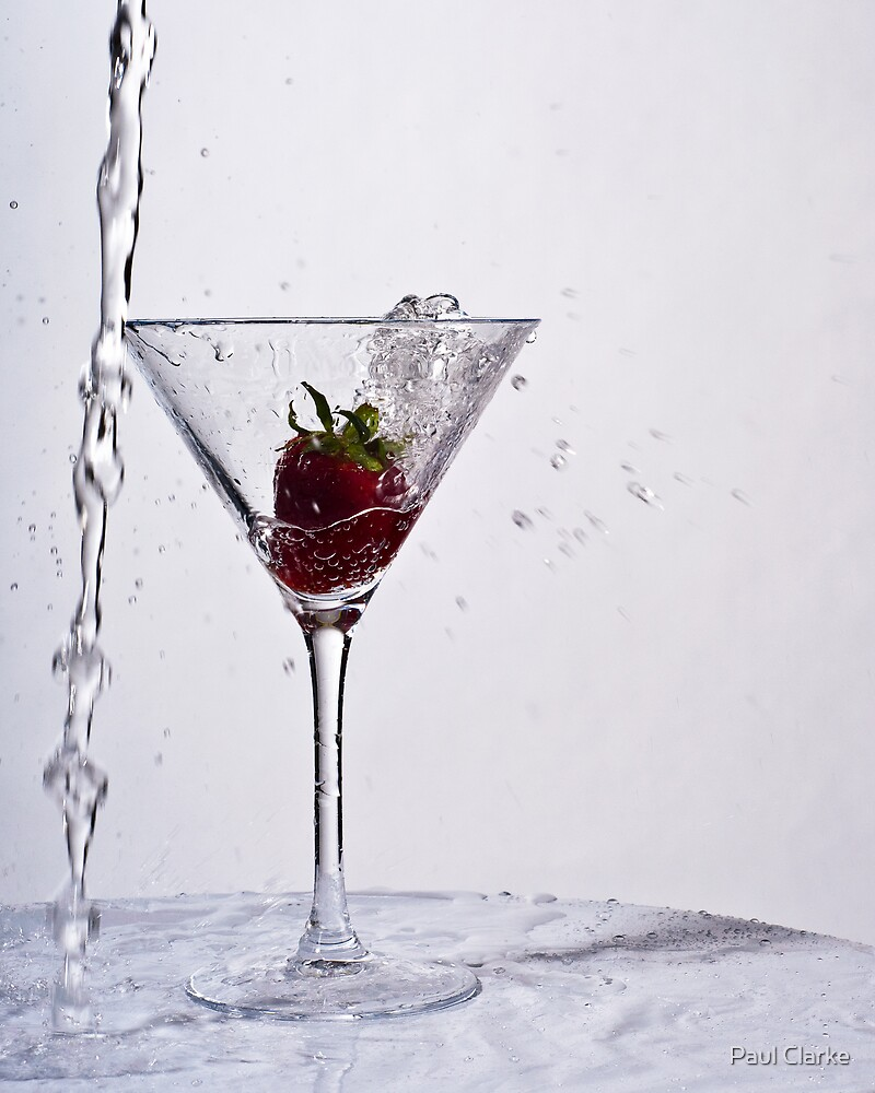 Strawberry Splash by Paul Clarke