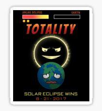 Totality Solar Eclipse Wins 8-21-2017 Sticker