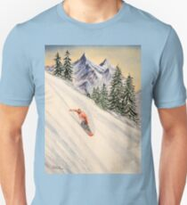 Snowboarding - Free And Easy Leader T-Shirt