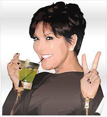 Kris Jenner Poster