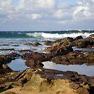 Beach Surf by Vee T
