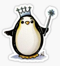 Her Royal Majesty, the Empress Penguin  Sticker