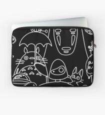 Ghibli in black Laptop Sleeve