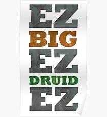 Big Druid Poster